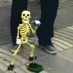 Dancing Skeleton Man