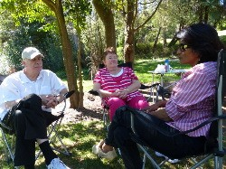 Susan Koshy interviewing Chris Bennett and Sue James