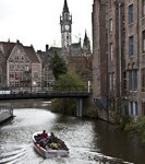 A boat tour in Ghent