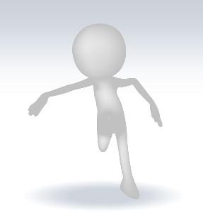 3D Running Figure
